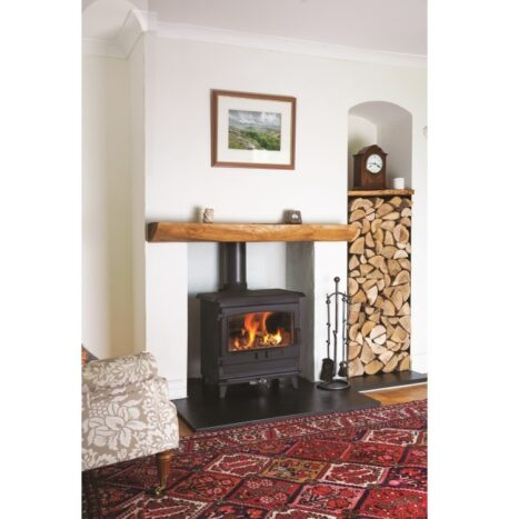 Croft Clearburn Small 8kw with Rolled Edge Top
