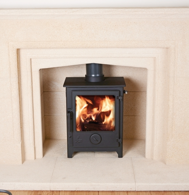 Dartmoor 5 5kw Woodburning Or Multi Fuel Stove Dean Forge
