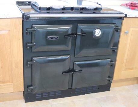 Rayburn 600K ex display oil fired range cook