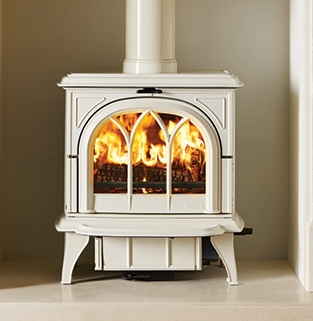 Ivory-multi-fuel-Huntington-28-with-tracery